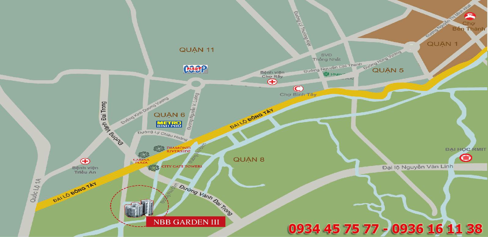 Căn hộ NBB Garden 3, NBB Garden 3, Căn hộ NBB Garden 3 Quận 8